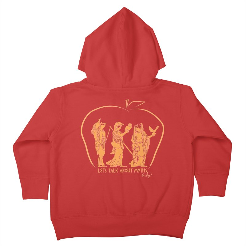 Judgement of Paris Kids Toddler Zip-Up Hoody by Let's Talk About Myths, Baby! Merch Shop