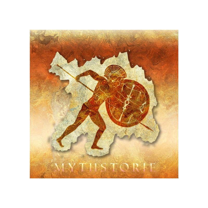 Mythstorie Logo Home Tapestry by mythstorie's Artist Shop