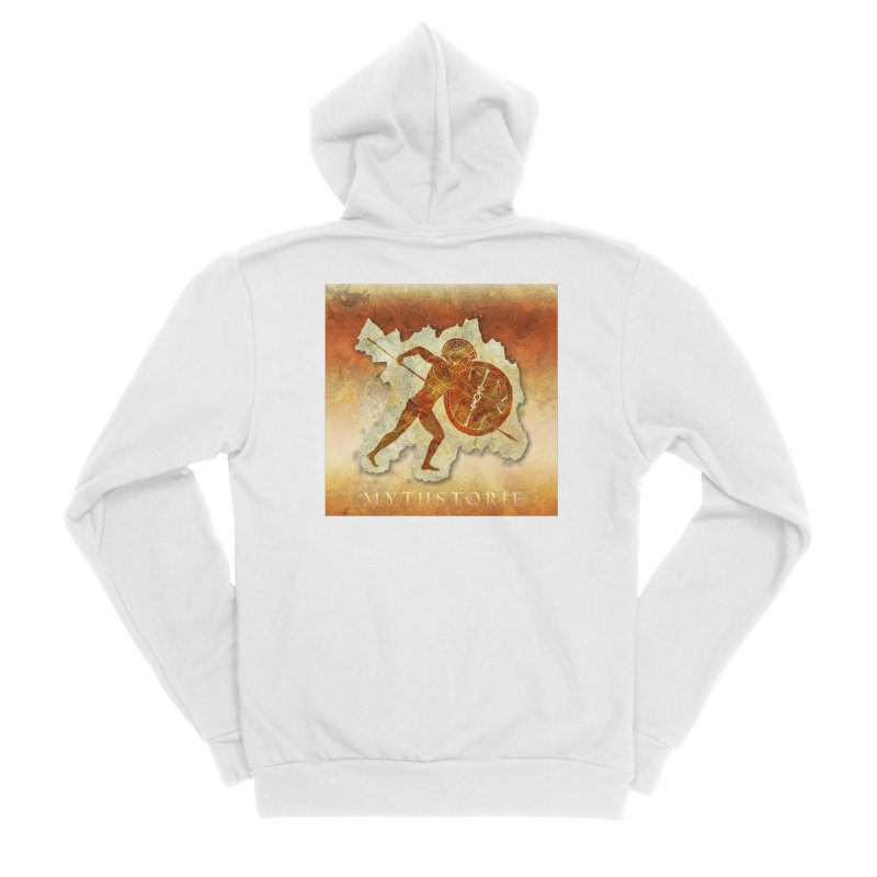 Mythstorie Logo Men's Zip-Up Hoody by mythstorie's Artist Shop