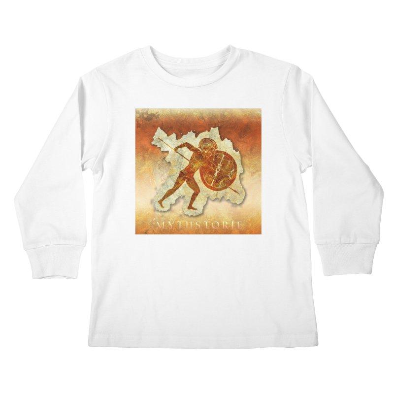 Mythstorie Logo Kids Longsleeve T-Shirt by mythstorie's Artist Shop