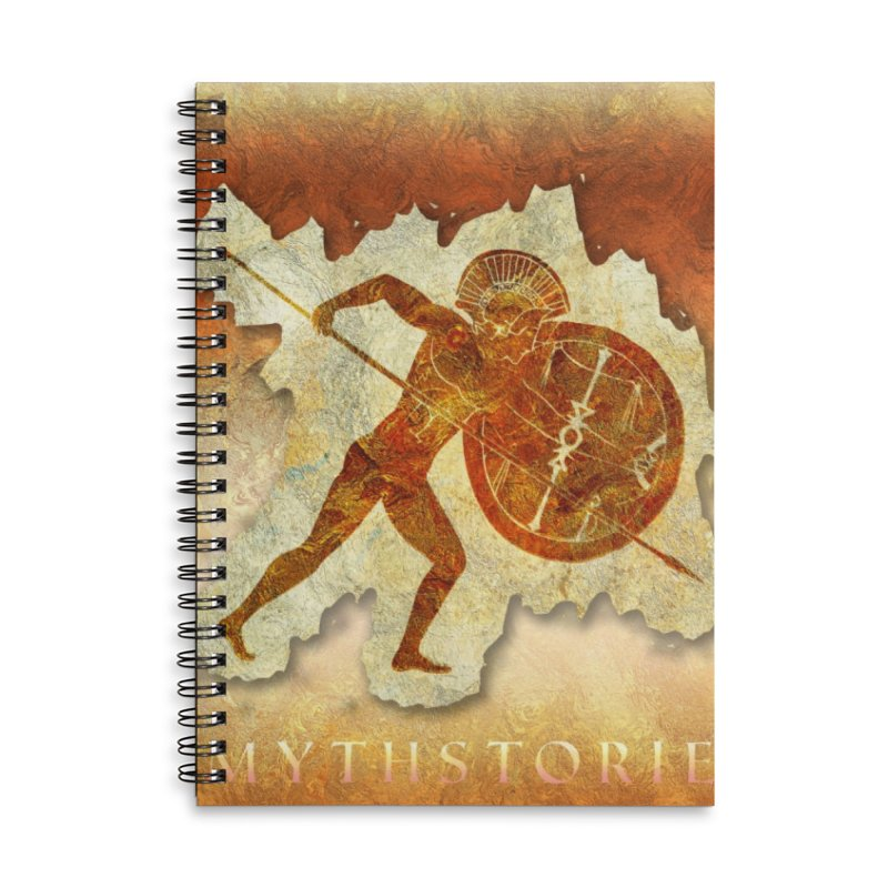 Mythstorie Logo Accessories Notebook by mythstorie's Artist Shop