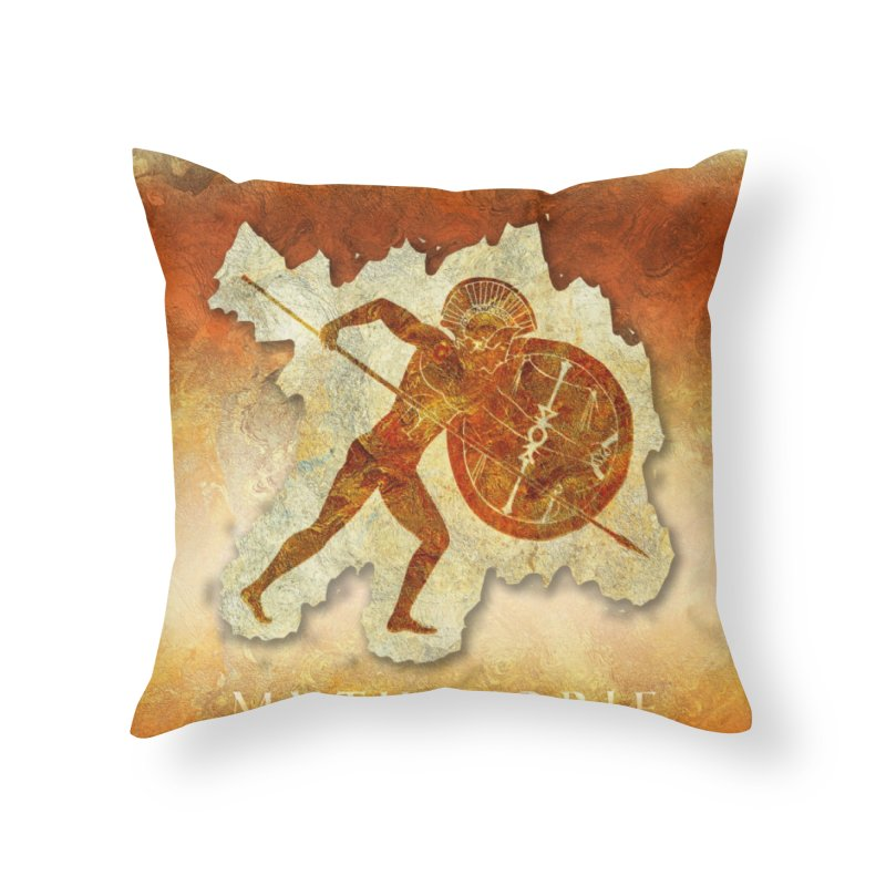 Mythstorie Logo Home Throw Pillow by mythstorie's Artist Shop