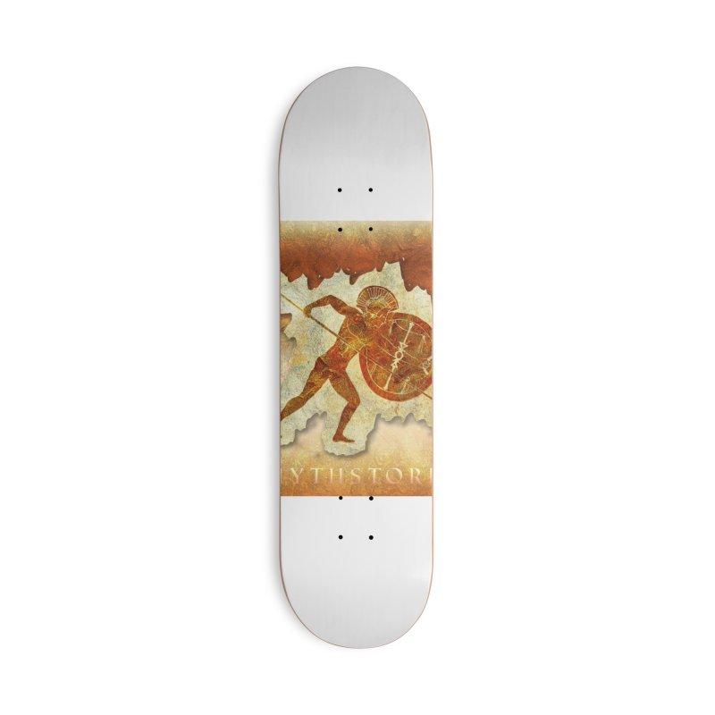 Mythstorie Logo Accessories Skateboard by mythstorie's Artist Shop
