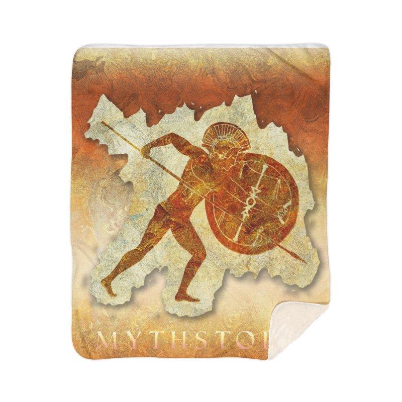 Mythstorie Logo Home Blanket by mythstorie's Artist Shop