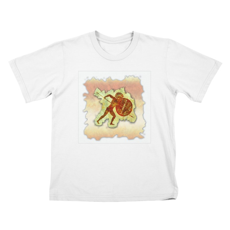 Mythstorie Shirt Tear Kids T-Shirt by mythstorie's Artist Shop