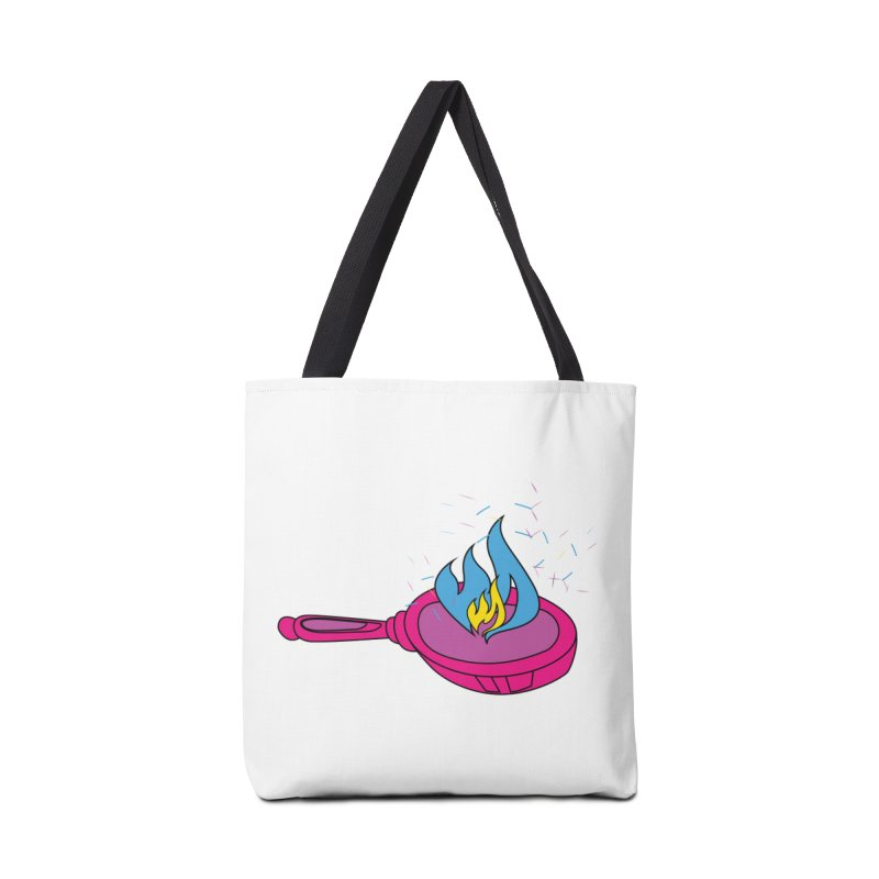 Flaming Pansexuals Accessories Tote Bag Bag by MyUmbrella Store