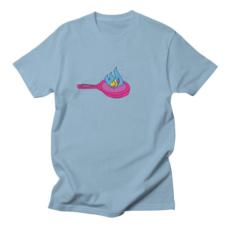 Flaming Pansexuals Men's Regular T-Shirt by MyUmbrella Store