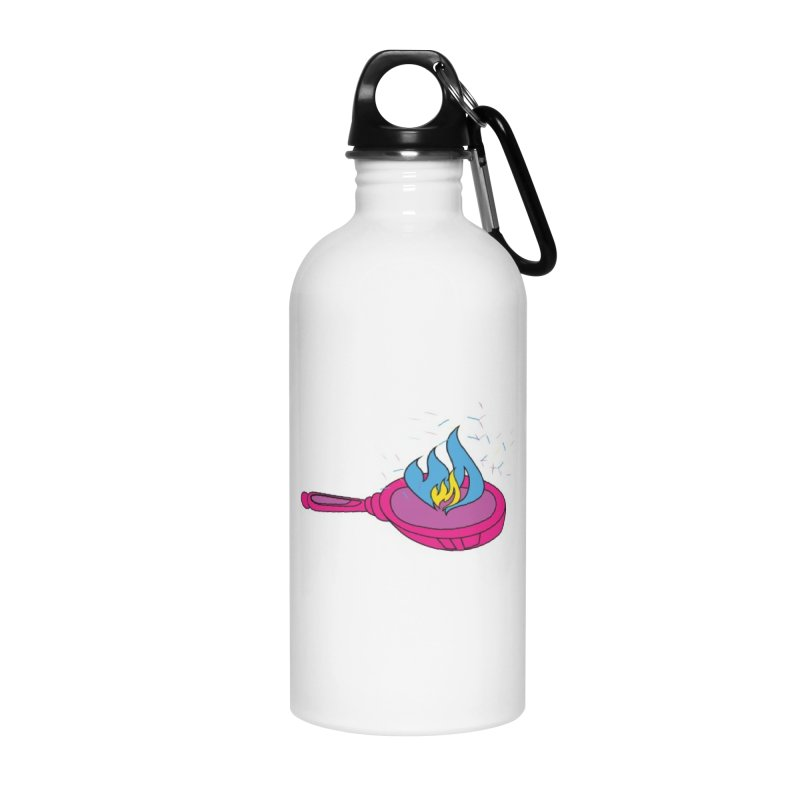 Flaming Pansexuals Accessories Water Bottle by MyUmbrella Store