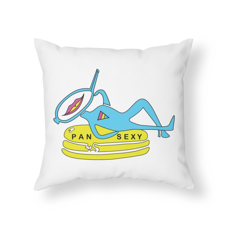 PanSEXY Home Throw Pillow by MyUmbrella Store