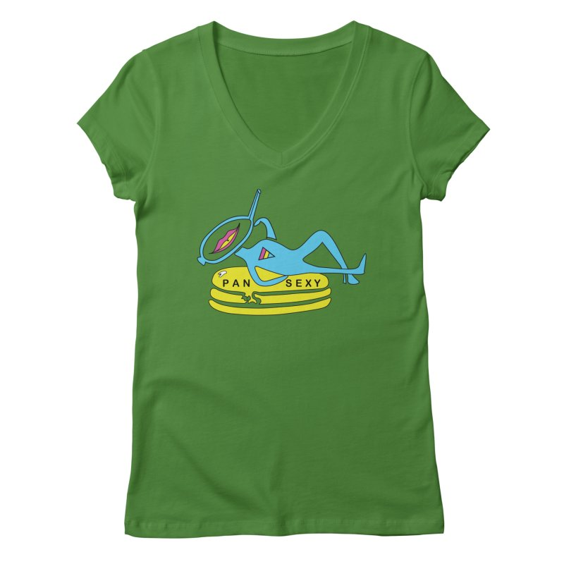 PanSEXY Women's Regular V-Neck by MyUmbrella Store
