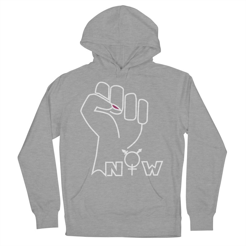 Fist of Change! (White) Women's Pullover Hoody by MyUmbrella Store