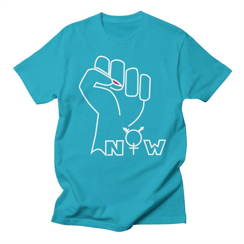 Fist of Change! (White) Women's T-Shirt by MyUmbrella Store