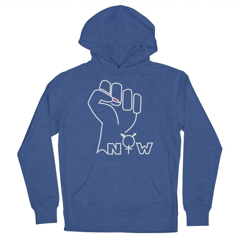 Fist of Change! (White) Women's Pullover Hoody by MyUmbrella Store