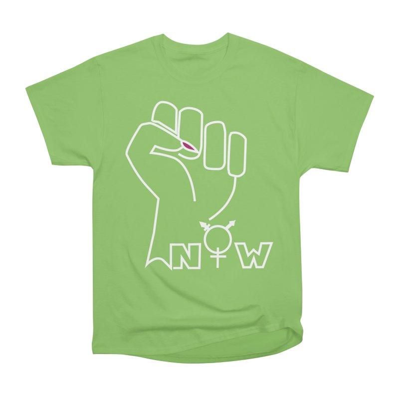 Fist of Change! (White) Men's Heavyweight T-Shirt by MyUmbrella Store