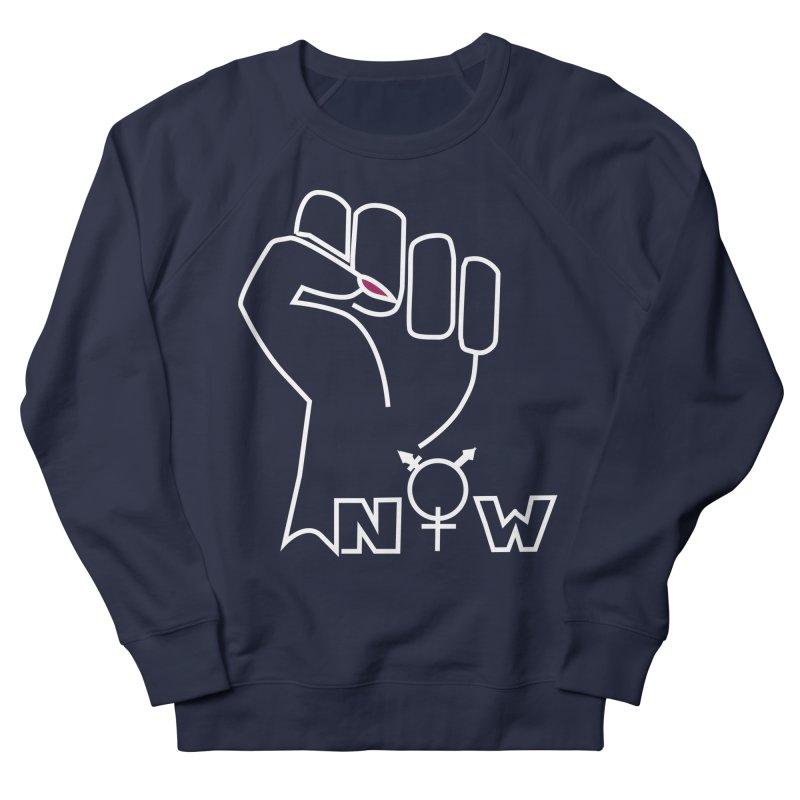 Fist of Change! (White) Women's French Terry Sweatshirt by MyUmbrella Store