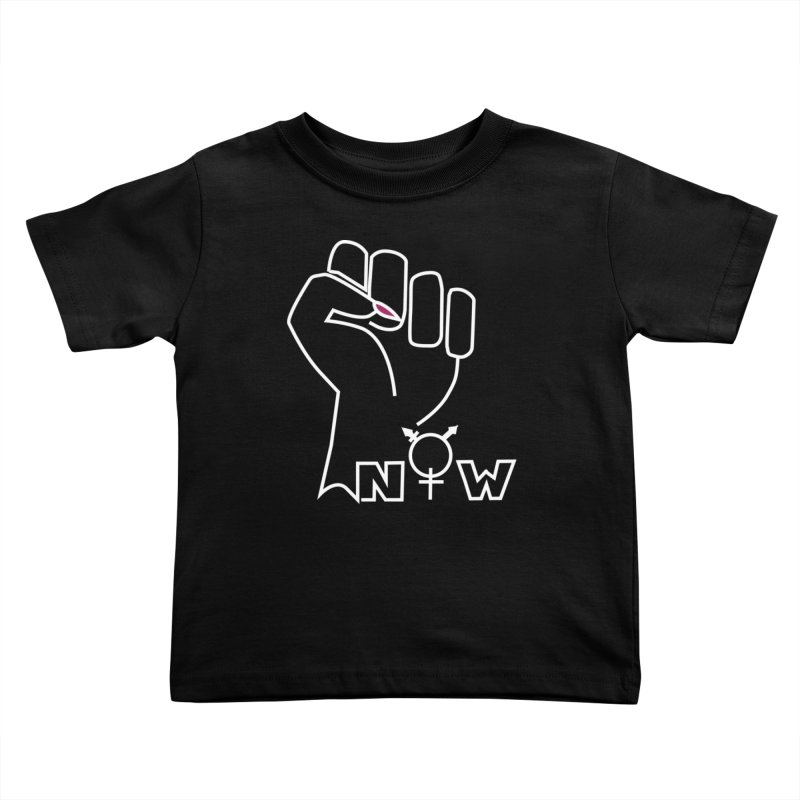 Fist of Change! (White) Kids Toddler T-Shirt by MyUmbrella Store