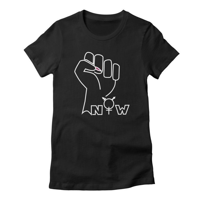Fist of Change! (White) Women's T-Shirt by MyUmbrella Store
