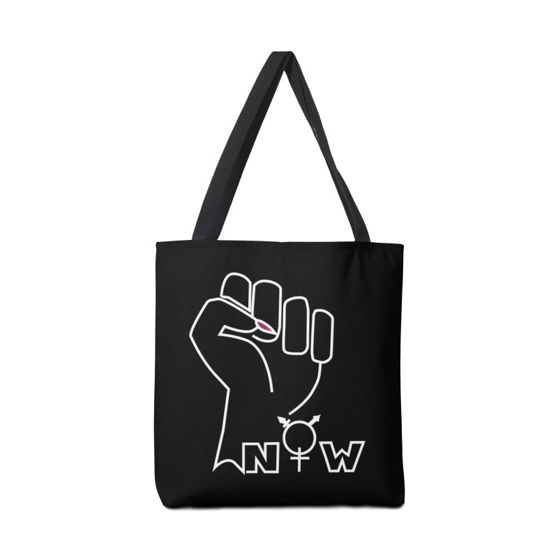 Fist of Change! (White) Accessories Bag by MyUmbrella Store
