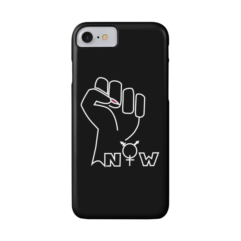 Fist of Change! (White) Accessories Phone Case by MyUmbrella Store