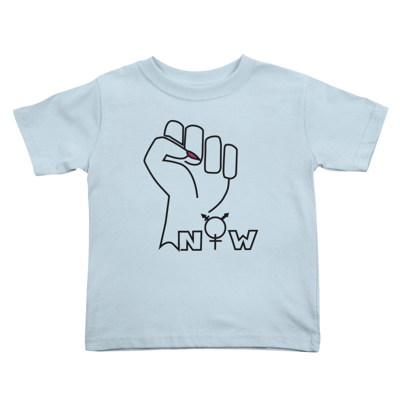 Fist of Change! (White) Kids Toddler T-Shirt by MyUmbrella Store