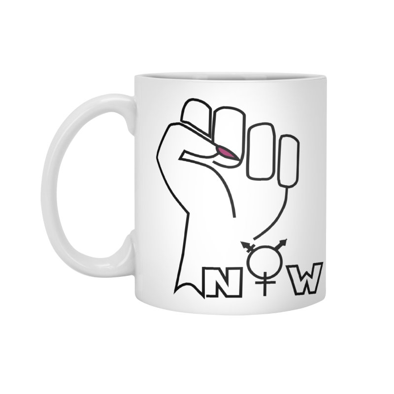 Fist of Change! (White) Accessories Standard Mug by MyUmbrella Store