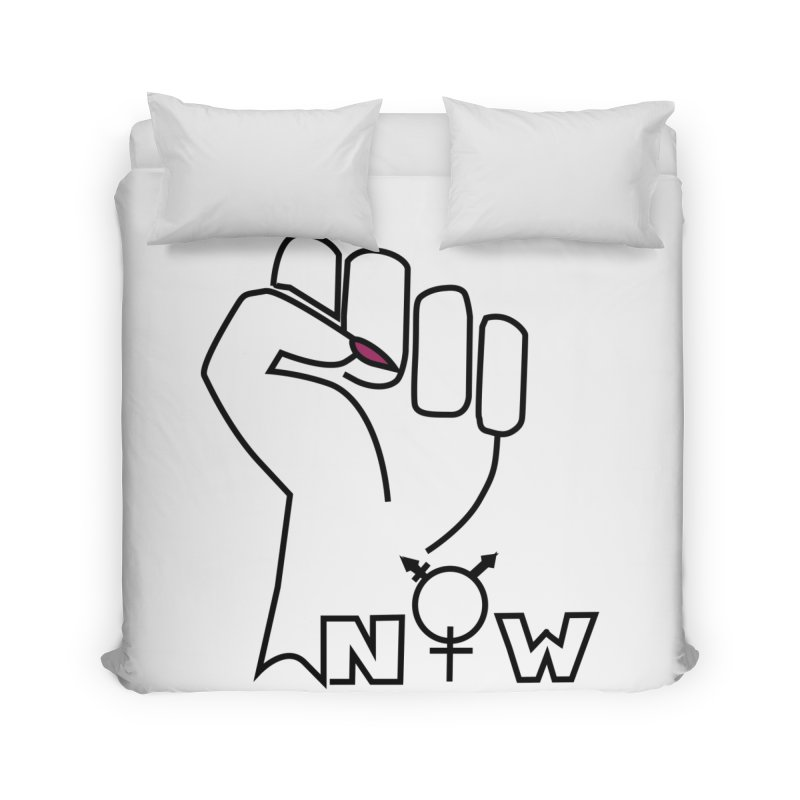 Fist of Change! (White) Home Duvet by MyUmbrella Store