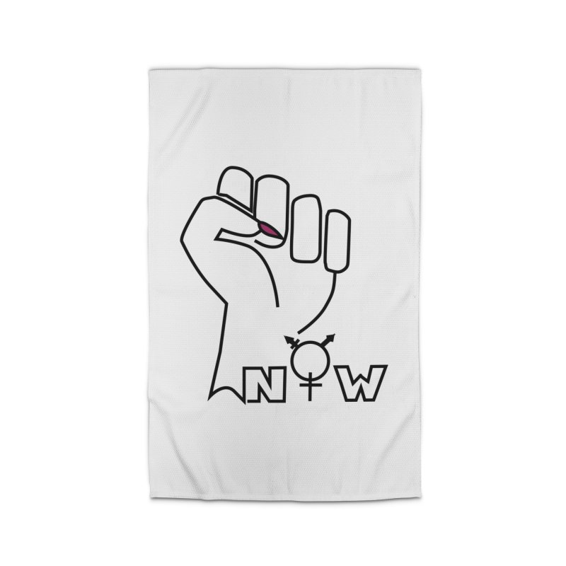 Fist of Change! (White) Home Rug by MyUmbrella Store