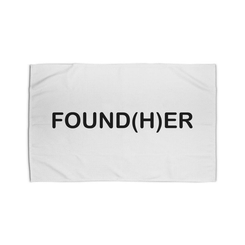 Found(H)ER Home Rug by MyUmbrella Store