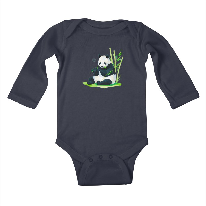 1 Second to Fright Kids Baby Longsleeve Bodysuit by nacreative's Artist Shop
