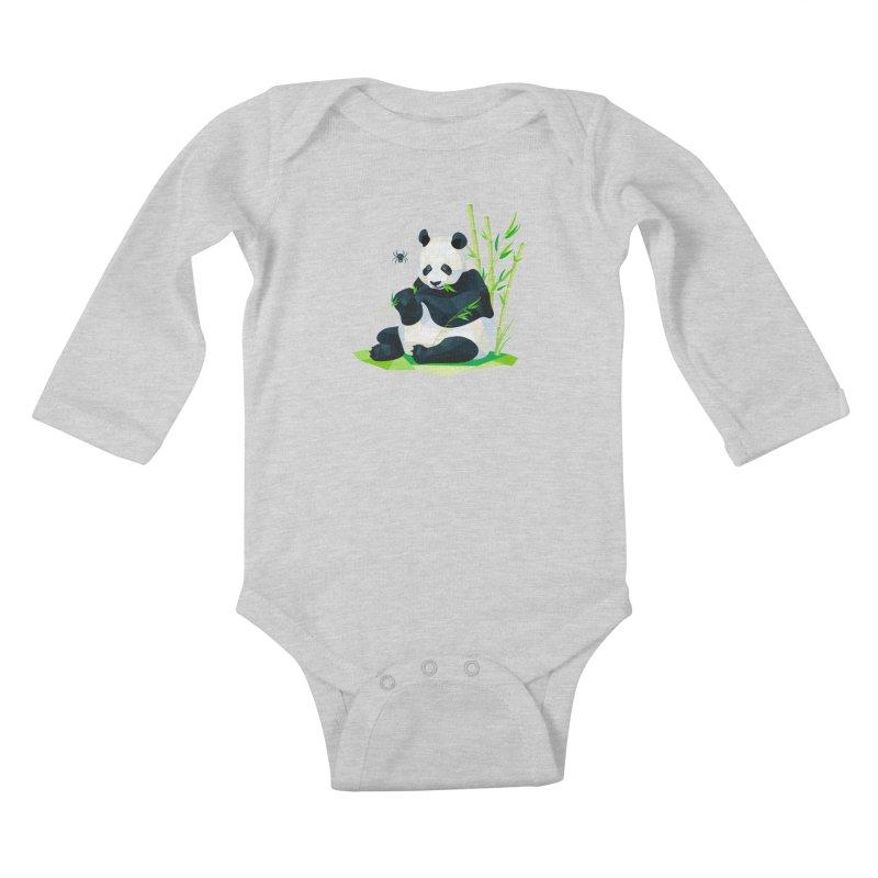 1 Second to Fright Kids Baby Longsleeve Bodysuit by nacreative's Artist Shop