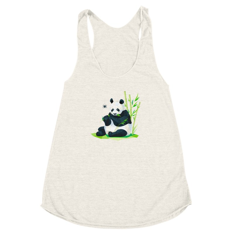 1 Second to Fright Women's Racerback Triblend Tank by nacreative's Artist Shop
