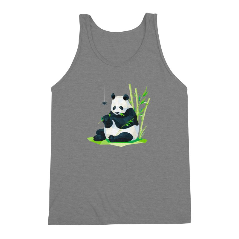 1 Second to Fright Men's Triblend Tank by nacreative's Artist Shop