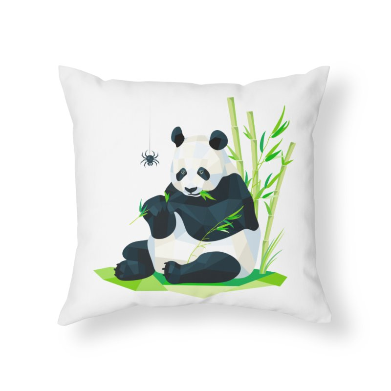 1 Second to Fright Home Throw Pillow by nacreative's Artist Shop