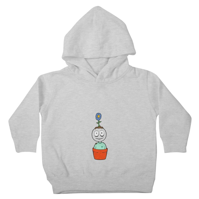 From the bottom up Kids Toddler Pullover Hoody by nadtown