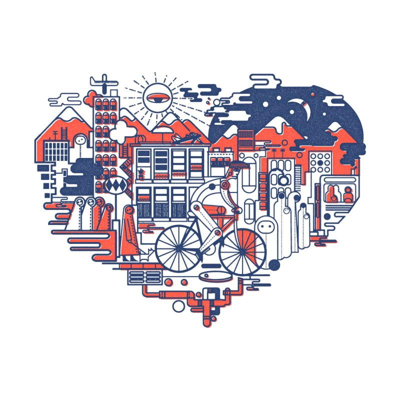 City Love None  by Naedo's Artist Shop