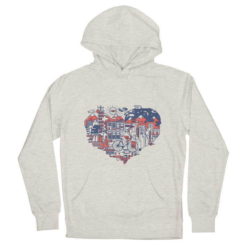 City Love Men's Pullover Hoody by Naedo's Artist Shop