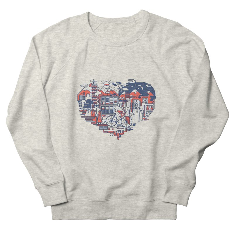City Love Men's Sweatshirt by Naedo's Artist Shop