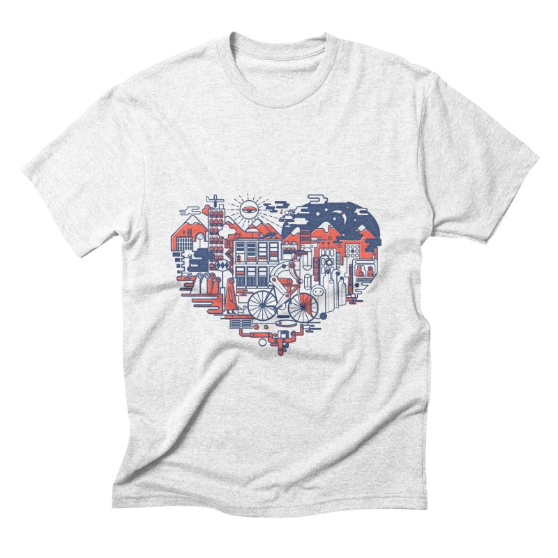 City Love Men's Triblend T-shirt by Naedo's Artist Shop