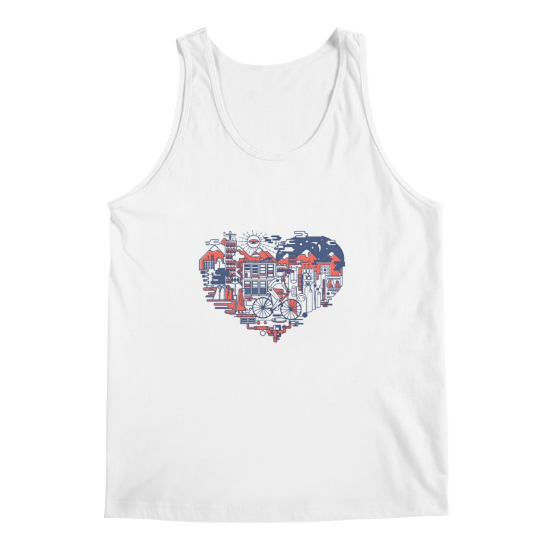 City Love Men's Tank by Naedo's Artist Shop