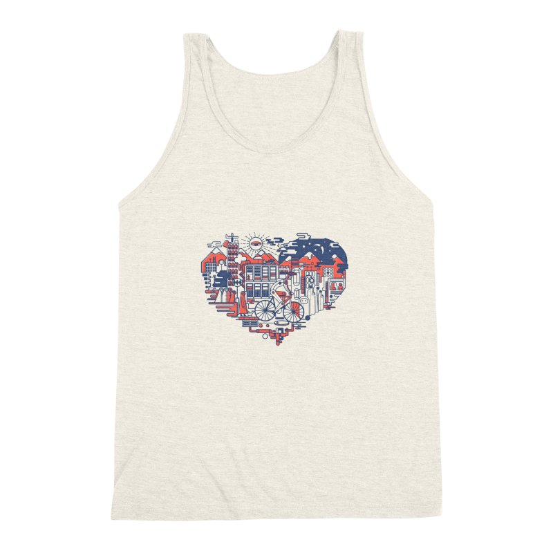 City Love Men's Triblend Tank by Naedo's Artist Shop