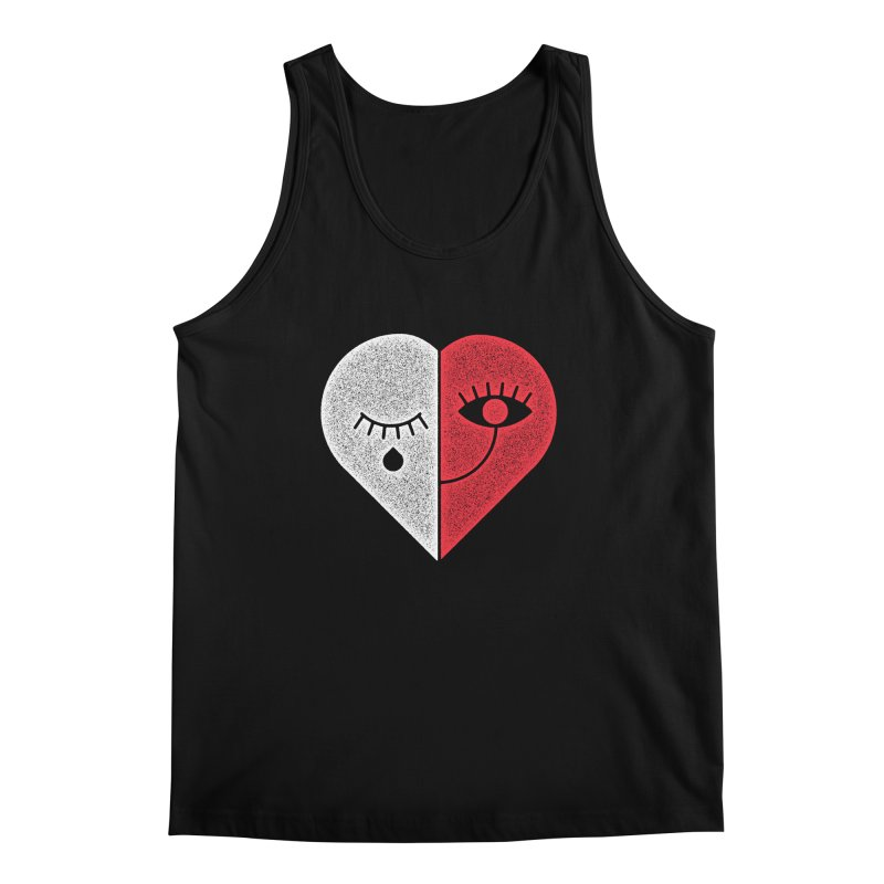 Sad & Happy Men's Tank by Naedo's Artist Shop