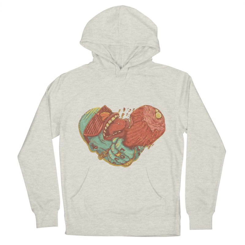 Love Meat Men's Pullover Hoody by Naedo's Artist Shop