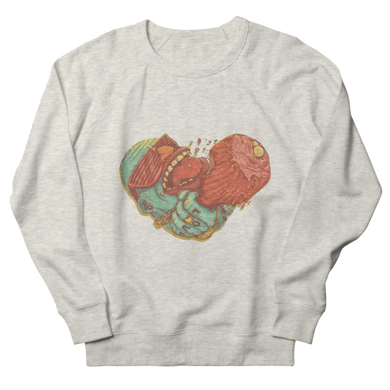 Love Meat Men's Sweatshirt by Naedo's Artist Shop