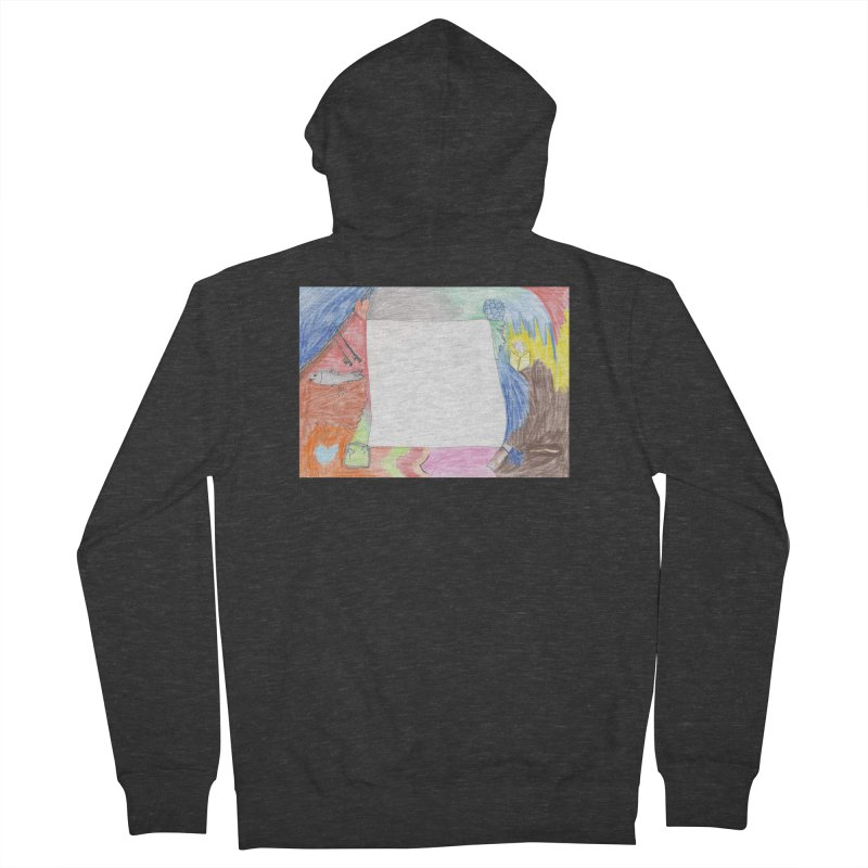 My Life Is Emptiness Women's French Terry Zip-Up Hoody by nagybarnabas's Artist Shop