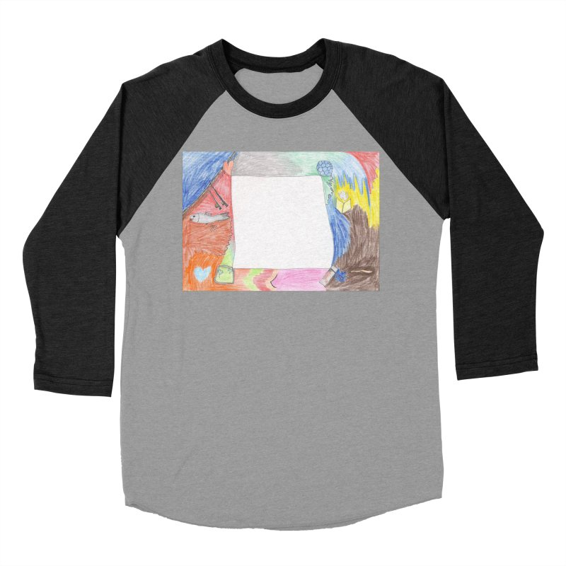 My Life Is Emptiness Women's Baseball Triblend Longsleeve T-Shirt by nagybarnabas's Artist Shop