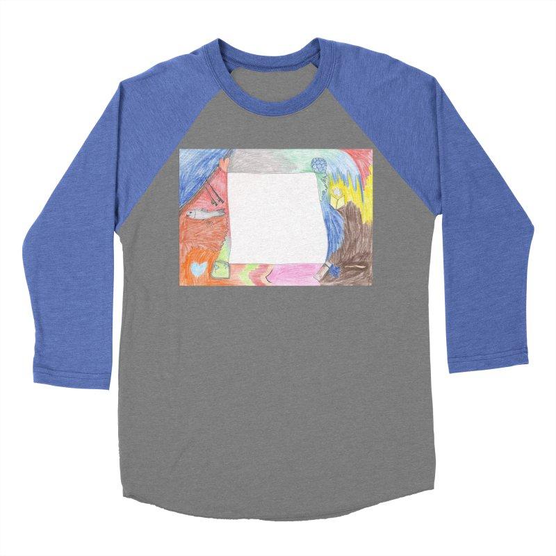 My Life Is Emptiness Men's Baseball Triblend Longsleeve T-Shirt by nagybarnabas's Artist Shop