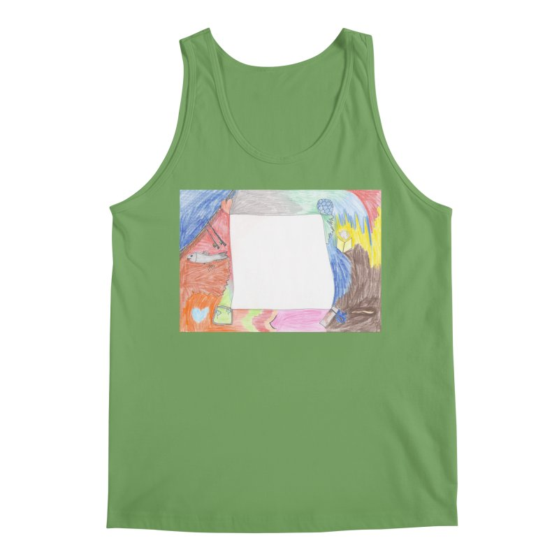 My Life Is Emptiness Men's Tank by nagybarnabas's Artist Shop