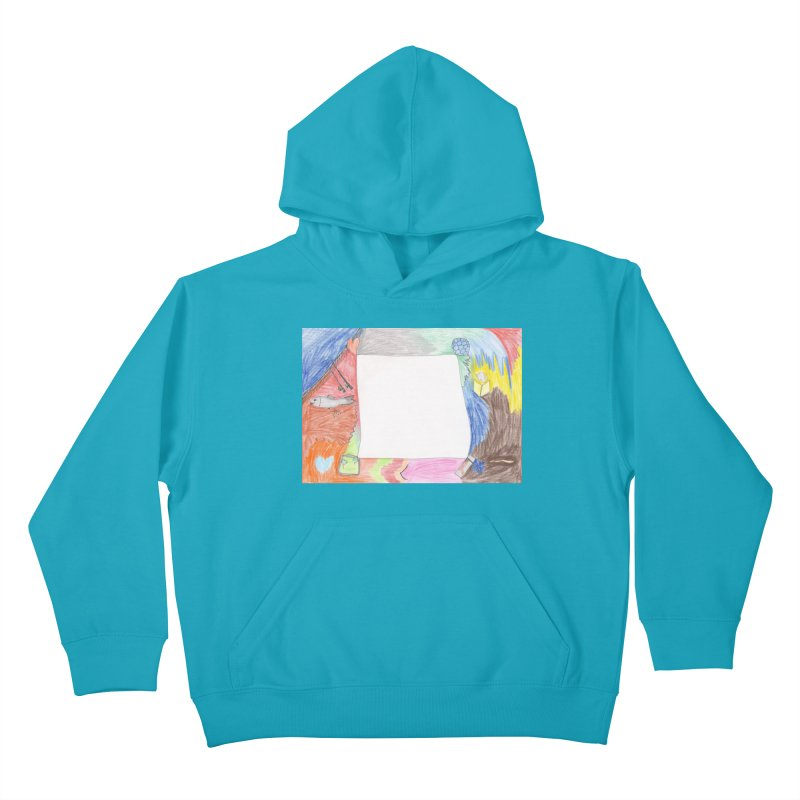 My Life Is Emptiness Kids Pullover Hoody by nagybarnabas's Artist Shop