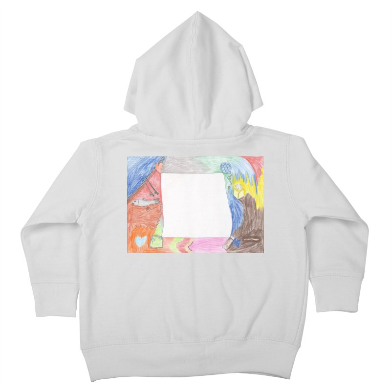 My Life Is Emptiness Kids Toddler Zip-Up Hoody by nagybarnabas's Artist Shop