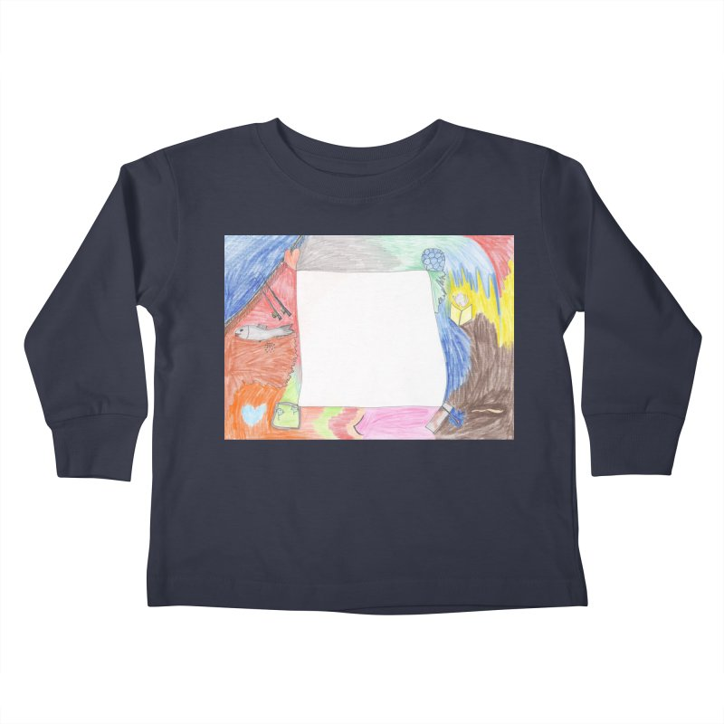 My Life Is Emptiness Kids Toddler Longsleeve T-Shirt by nagybarnabas's Artist Shop
